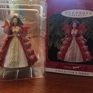 Hallmark Holiday Barbie Ornament